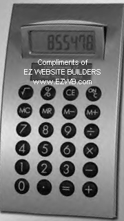 Compliments of EZ Website Builders