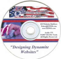 EZ Website Builders Educational CD-ROM
